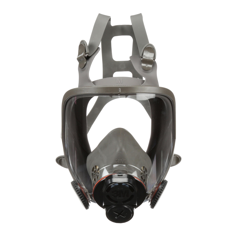 3M™ Full Facepiece Reusable Respirator, 6800DIN, medium, 4/case