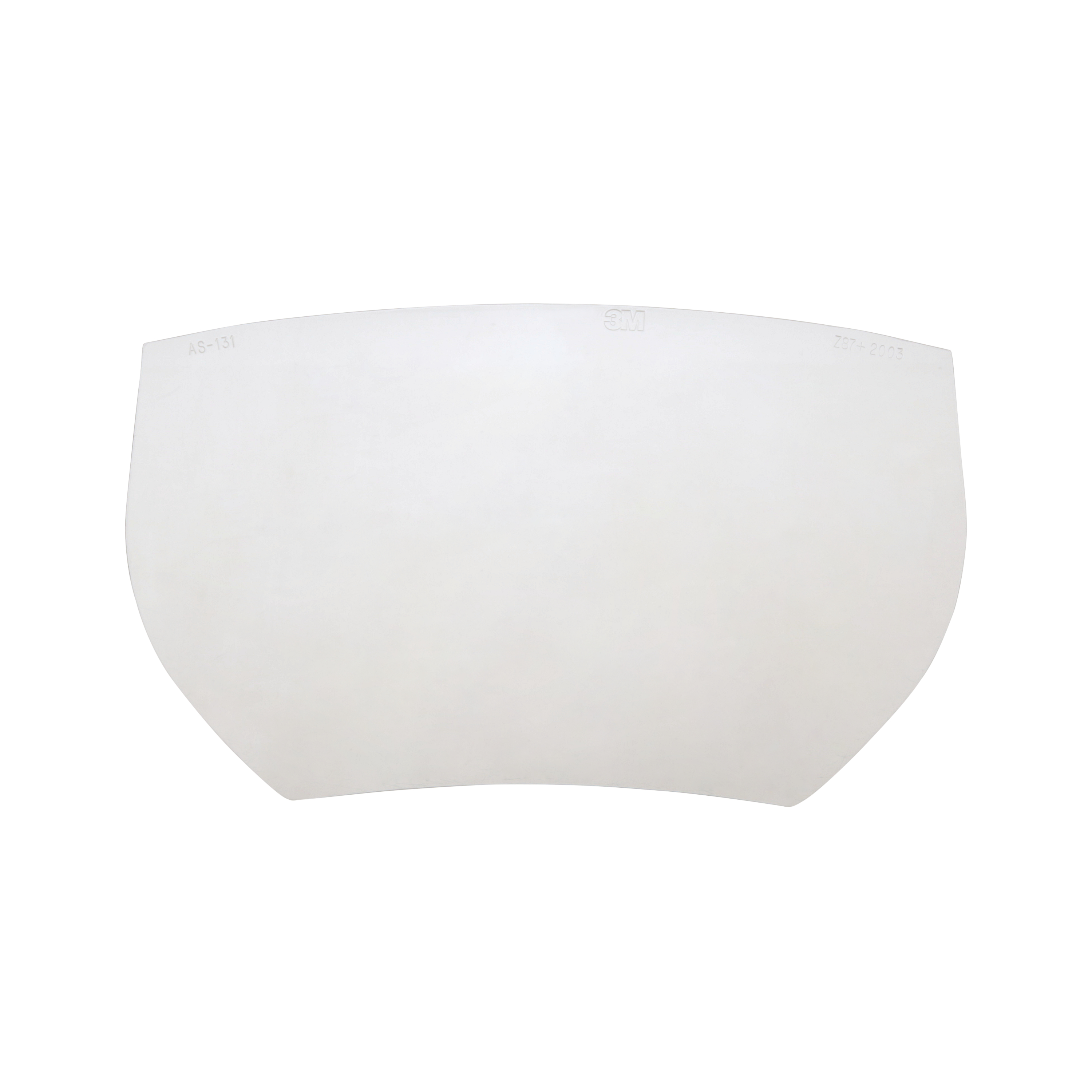 3M™ Visor, AS-131-10, anti-fog, scratch resistant, 10/pack